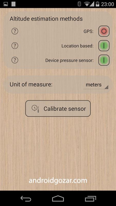 دانلود Accurate Altimeter Pro 2.2.23 برنامه ارتفاع سنج آفلاین اندروید