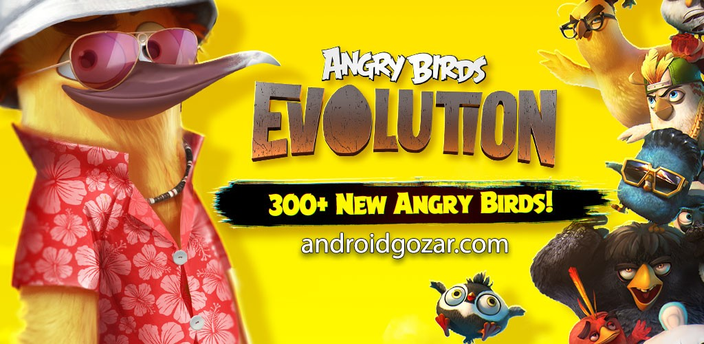 Angry Birds Evolution 1.26.0 دانلود بازی تکامل پرندگان خشمگین + مود + دیتا