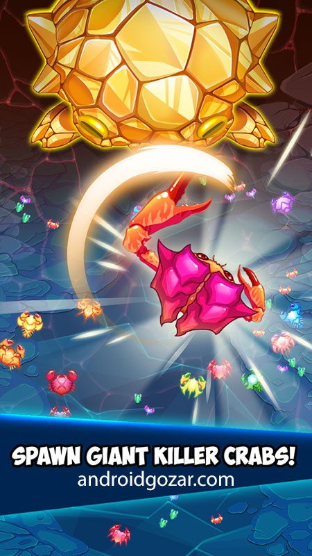 Crab War 3.7.2 دانلود بازی جنگ خرچنگ ها اندروید + مود