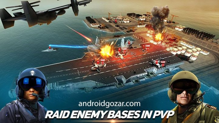 Drone 2 Air Assault 0.1.97 بازی حمله هوایی پهپادها اندروید + مود + دیتا