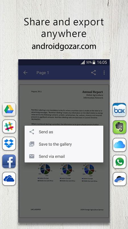 FineScanner Pro 1.18.0.1 دانلود نرم افزار اسکن و استخراج متن از عکس اندروید
