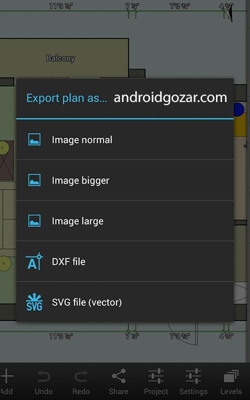 دانلود Floor Plan Creator Pro 3.5.2 برنامه نقشه کشی اندروید