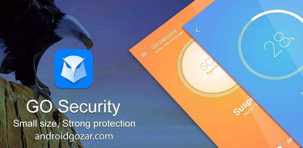 GO Security 1.42.1 نرم افزار آنتی ویروس و امنیتی قدرتمند اندروید