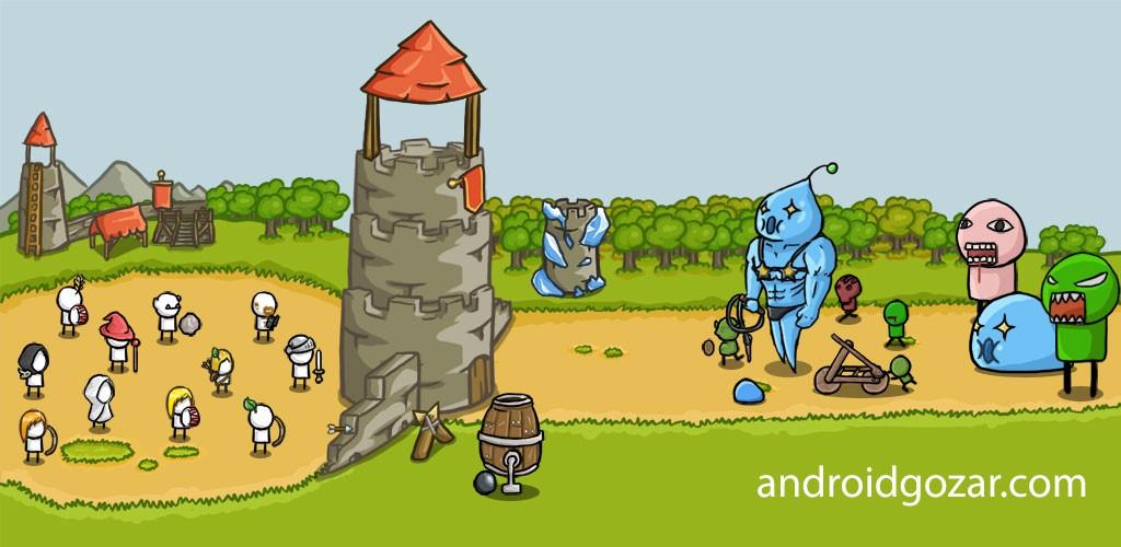 Grow Castle 1.19.5 دانلود بازی دفاع از قلعه اندروید + مود