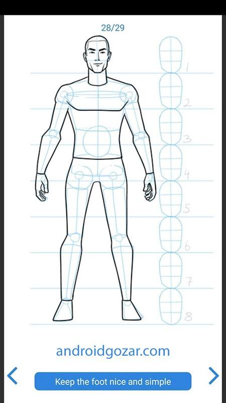 Learn How to Draw Full 1.29 دانلود نرم افزار یادگیری نقاشی در اندروید