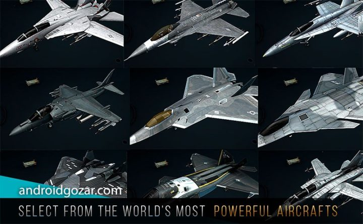 Modern Warplanes 1.8.26 دانلود بازی هواپیماهای جنگی مدرن اندروید + مود