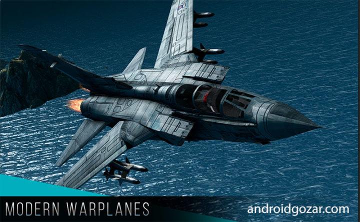 Modern Warplanes 1.8.4 دانلود بازی هواپیماهای جنگی مدرن اندروید + مود
