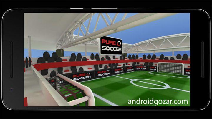 Pure Soccer 1.01 دانلود بازی فوتبال خالص اندروید