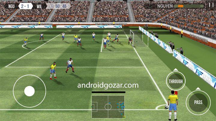 Real Football 1.6.0 دانلود بازی فوتبال واقعی گیم لافت اندروید