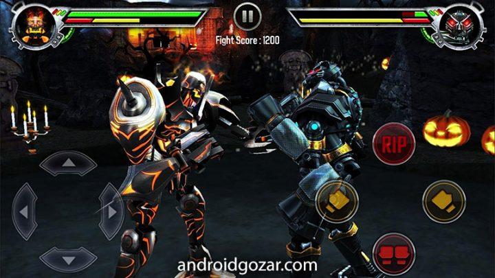 دانلود Real Steel 1.84.34 بازی اکشن جنگ ربات ها اندروید + مود
