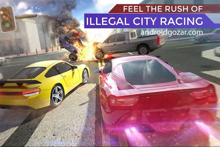 Traffic: Illegal Road Racing 5 1.8 بازی مسابقه ماشین سواری ترافیک اندروید+مود