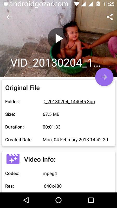 دانلود Video Converter Pro 4.2 – برنامه مبدل صوتی و تصویری اندروید