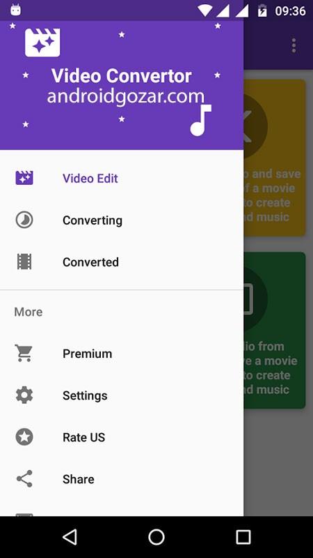 دانلود Video Converter Pro 5.0 برنامه مبدل صوتی و تصویری اندروید