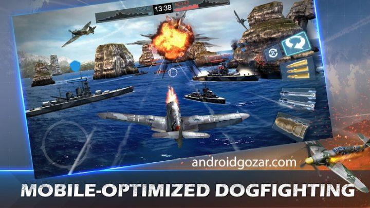War Wings 5.6.63 دانلود بازی اکشن بال های جنگ اندروید + مود