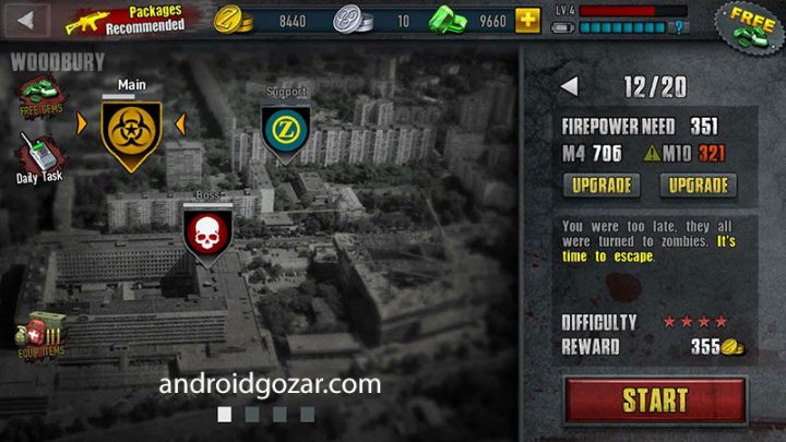 Zombie Frontier 3 2.20 دانلود بازی اکشن تفنگی مرز زامبی 3 اندروید + مود