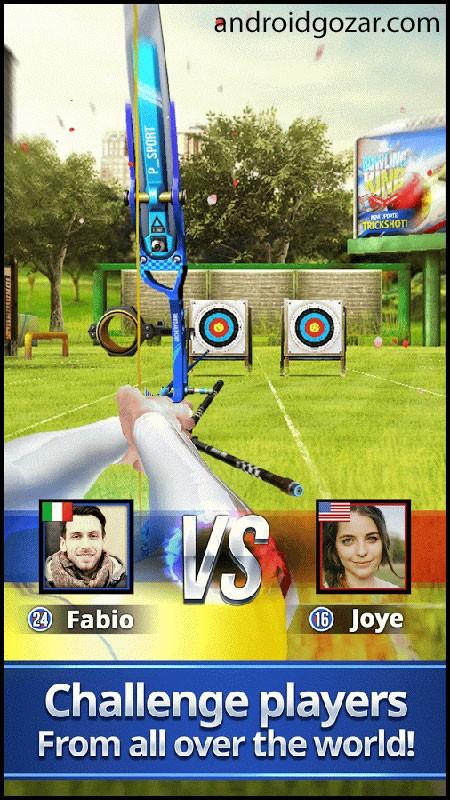 دانلود Archery King 1.0.35.1 بازی پادشاه تیراندازی با کمان اندروید + مود