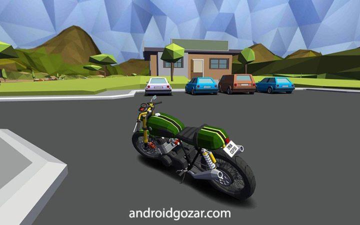 Cafe Racer 1.032 دانلود بازی موتور سواری منحصر به فرد اندروید + مود