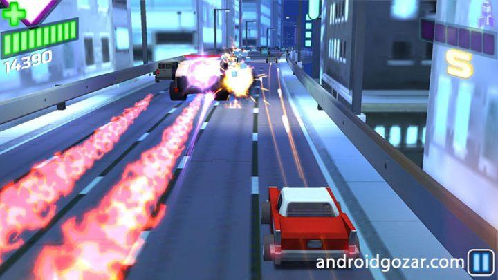 Cars vs Bosses 1.007 دانلود بازی نبرد اتومبیل ها و اربابان اندروید + مود