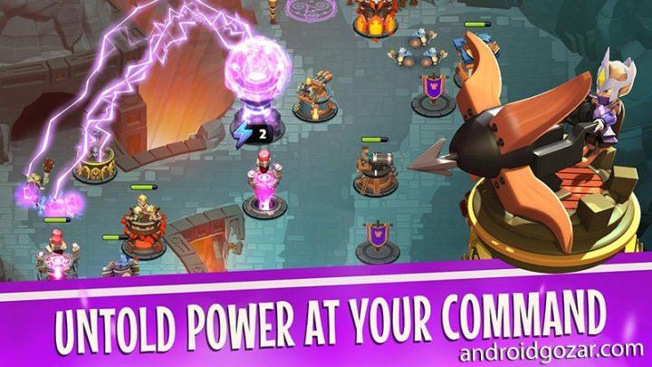 Castle Creeps TD 1.48.0 دانلود بازی دفاع از برج اندروید + مود