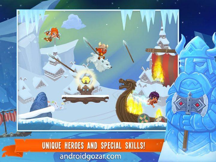Dash Legends Racing Adventure 1.0.54 بازی اکشن مبارزه چند نفره اندروید + مود