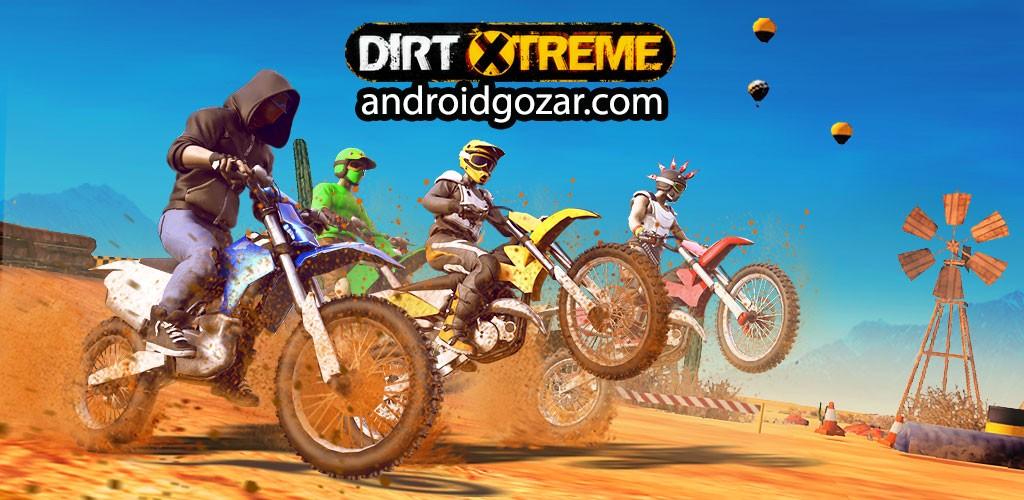 Dirt Xtreme 1.3.5 دانلود بازی موتور سواری کراس اندروید + دیتا