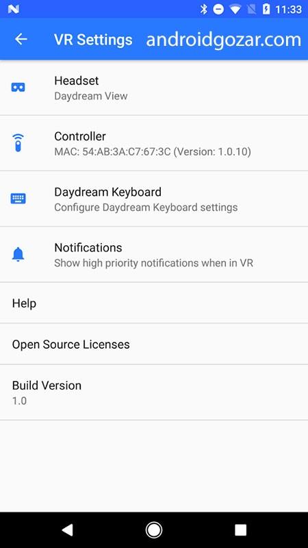 Google VR Services 1.0.139649377 سرویس های واقعیت مجازی گوگل
