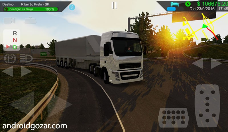 Heavy Truck Simulator 1.910 دانلود بازی شبیه سازی کامیون اندروید + ...تصاویر