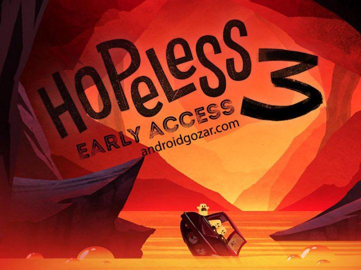 دانلود Hopeless 3: Dark Hollow Earth 1.1.05 بازی ناامیدی 3 اندروید + مود