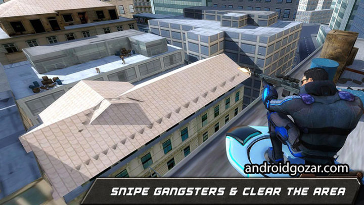 Hoverboard Sniper Shooter Team 1.6 دانلود بازی تیراندازی اسنایپر اندروید