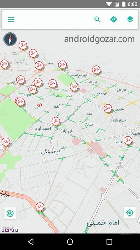 دانلود Mashhad Map 9.2.1 نقشه همراه مشهد آفلاین اندروید