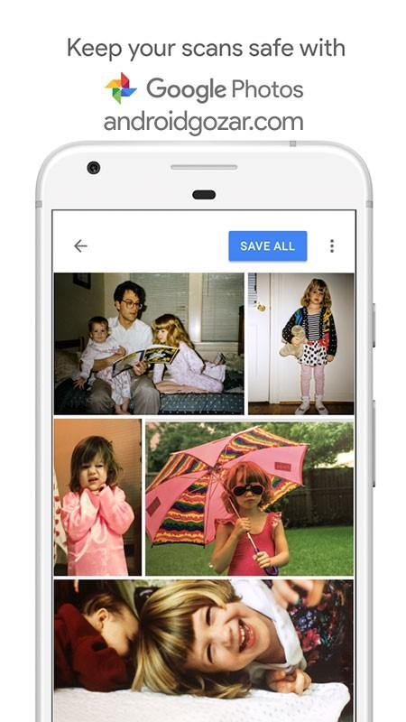 دانلود PhotoScan by Google Photos 1.5.2.242191532 اسکن عکس اندروید