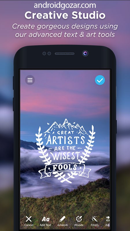 PicLab Studio Full 1.0.9 دانلود نرم افزار ایجاد تصاویر خیره کننده اندروید