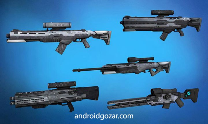 Sniper Robots 1.9 دانلود بازی ربات های تک تیرانداز اندروید + مود