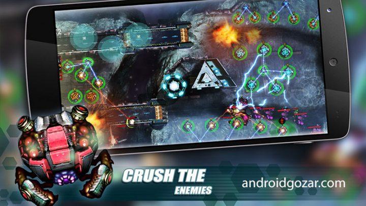 Tower Defense: Invasion HD 1.12 دانلود بازی دفاع برج: تهاجم اندروید + مود