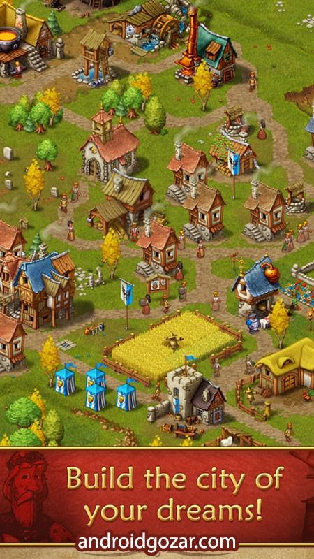 Townsmen Premium 1.14.1 دانلود بازی شهرنشینان اندروید + مود