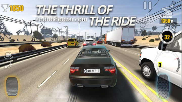 دانلود Traffic Tour 1.4.6 – بازی ماشین سواری چند نفره اندروید + مود