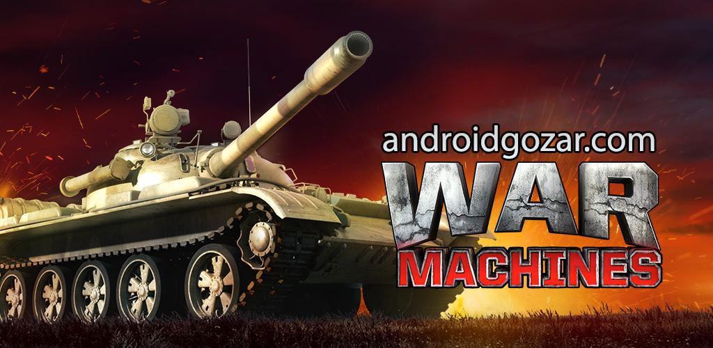 War Machines Tank Shooter Game 2.1.1 دانلود بازی جنگ تانک ها اندروید