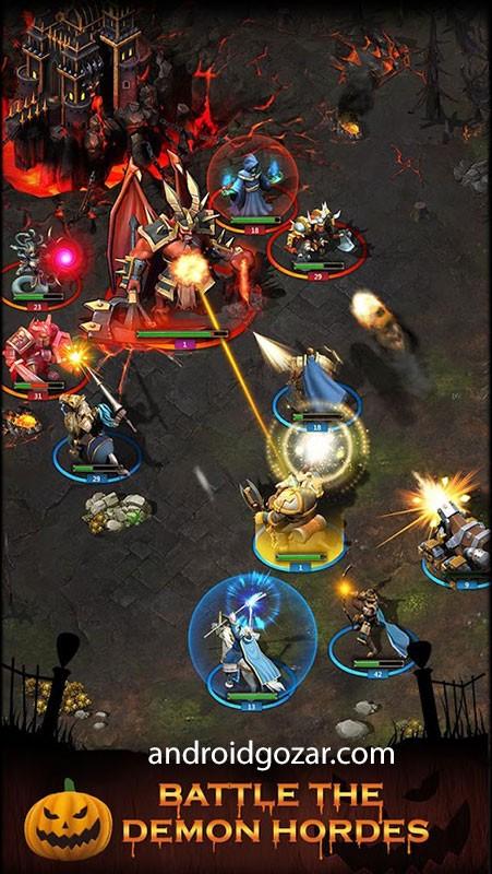 WarStorm: Clash of Heroes 1.3.7 دانلود بازی طوفان جنگ اندروید