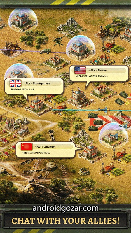 World at War 2019.3.1 دانلود بازی استراتژی جهان در جنگ اندروید