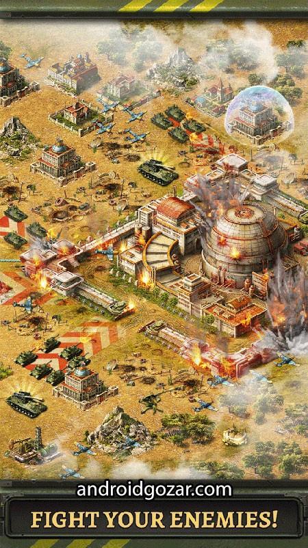 دانلود World at War 2021.1.0 بازی جهان در جنگ اندروید
