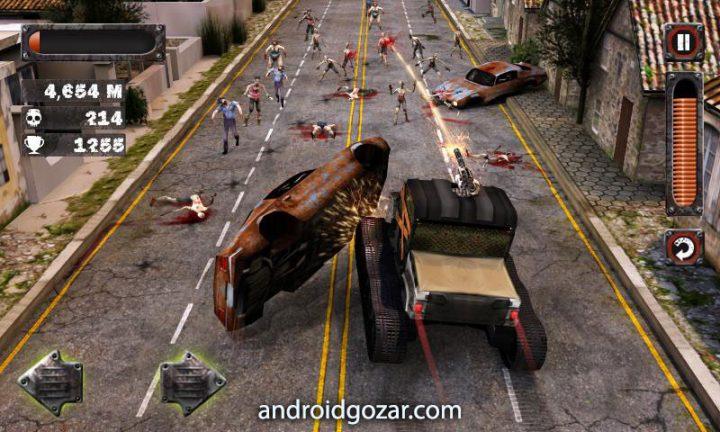 Zombie Squad 1.25.5 دانلود بازی رانندگی در میان زامبی ها اندروید + مود
