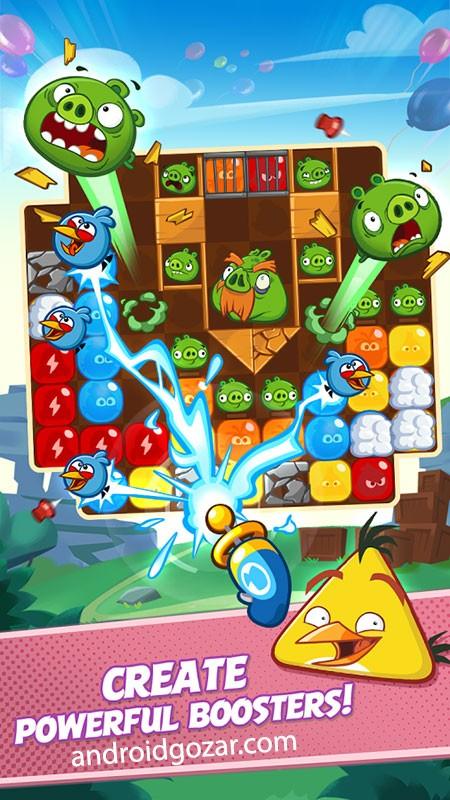 دانلود Angry Birds Blast 2.1.1 بازی انفجار پرندگان خشمگین اندروید + مود