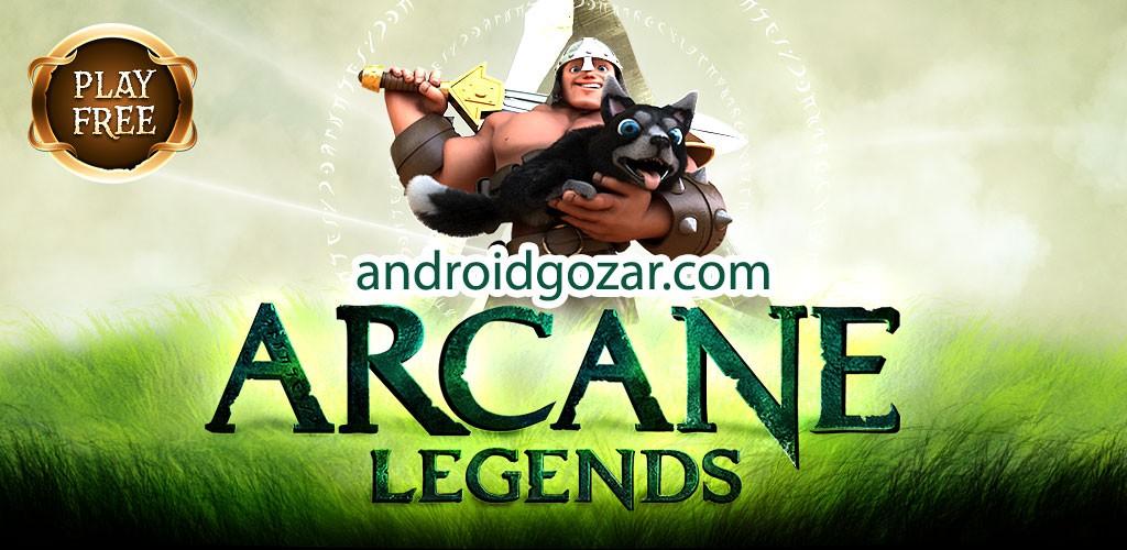 دانلود Arcane Legends 2.5.4 بازی افسانه های سری اندروید