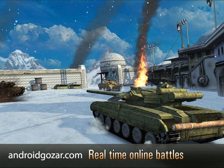دانلود Armada: Modern Tanks 3.50.1 بازی تانک های مدرن اندروید