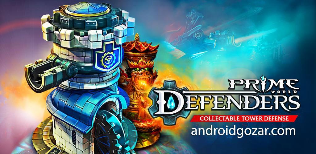 Defenders: TD Origins 1.8.63460 دانلود بازی مدافعان اندروید + مود + دیتا