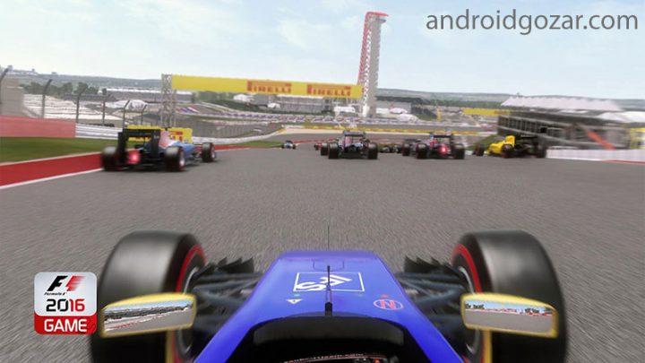 دانلود F1 2016 1.0.1 بازی مسابقات فرمول یک اندروید