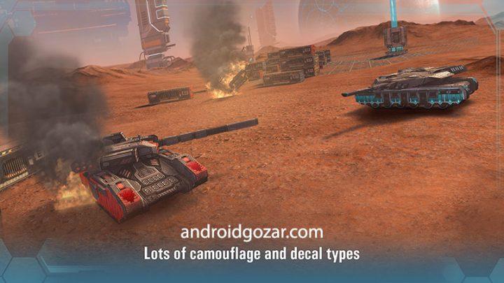 Future Tanks: Online Battle 2.57 دانلود بازی نبرد تانک های آینده اندروید + دیتا