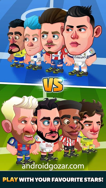 Head Soccer LaLiga 2019 5.3.1 دانلود بازی فوتبال لالیگا اندروید + مود
