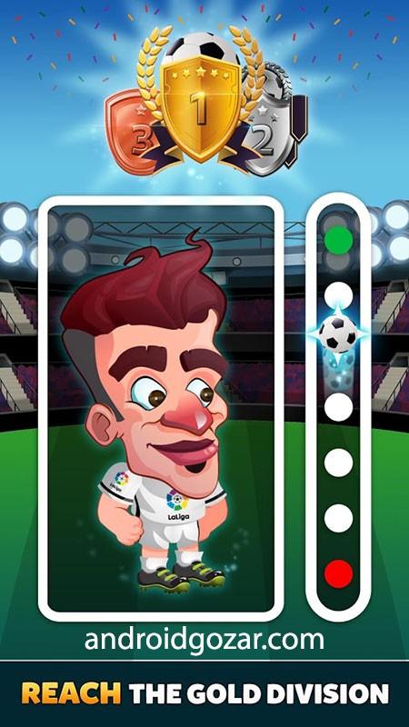 دانلود Head Football LaLiga 2021 7.0.7 – بازی فوتبال لالیگا اندروید + مود