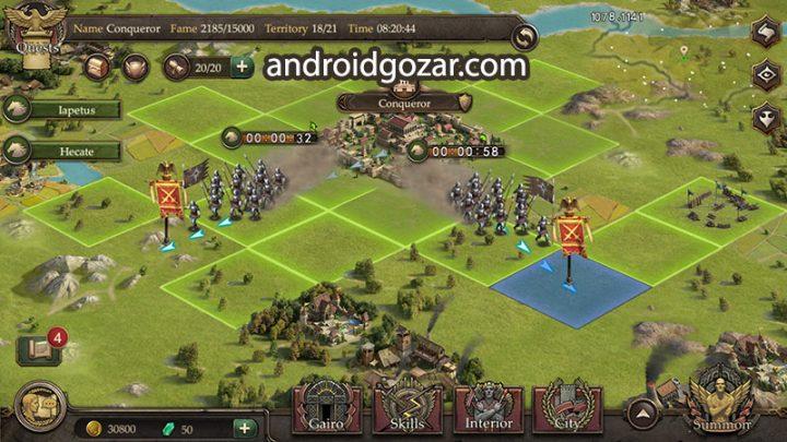 Immortal Conquest 1.2.8 دانلود بازی استراتژیک فتح جاویدان اندروید